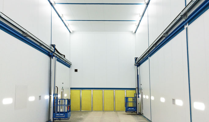 commercial vehicle spraybooths