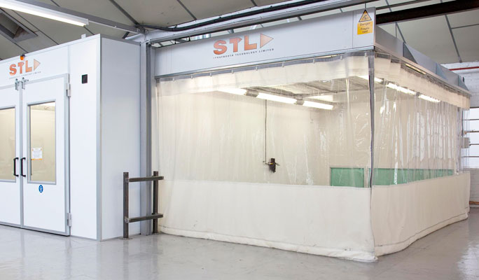 SMART repair spraybooths and equipment for the bodyshop