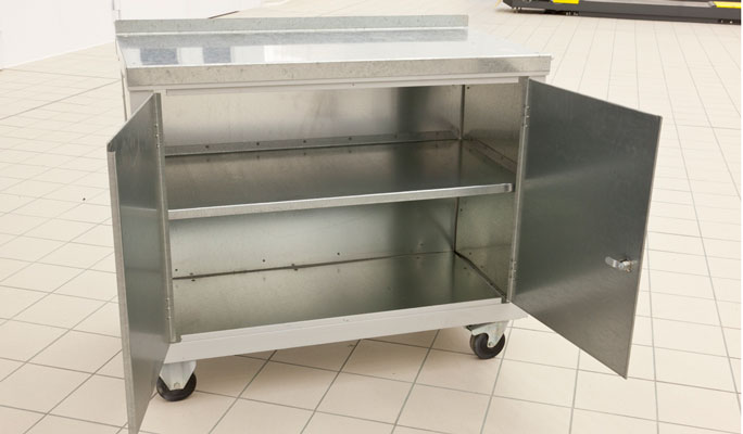 Bodyshop equipment tool trolleys