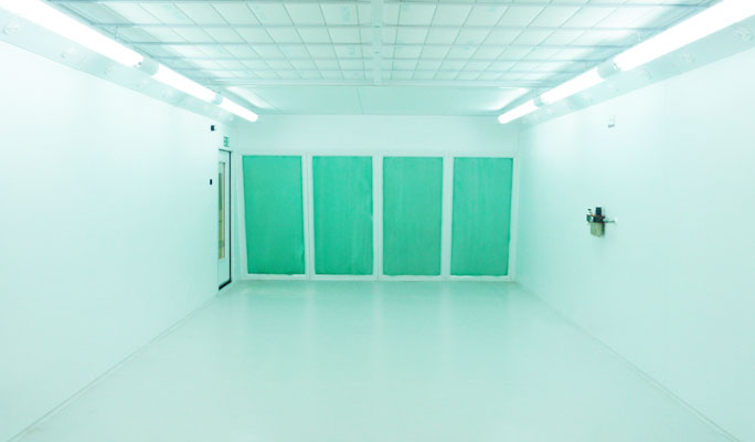 High performance, energy saving rear wall extraction spraybooths