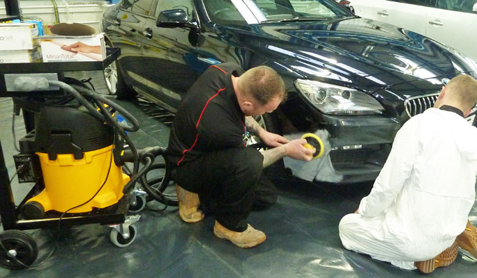 SMART repair equipment for the bodyshop