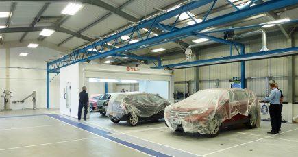 Fix Auto Wrexham Tempo spraybooth