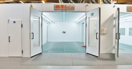 STL downdraft spraybooth